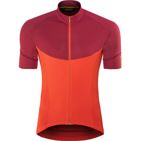 Mavic Ksyrium Pro Bike Jersey Shortsleeve Men red